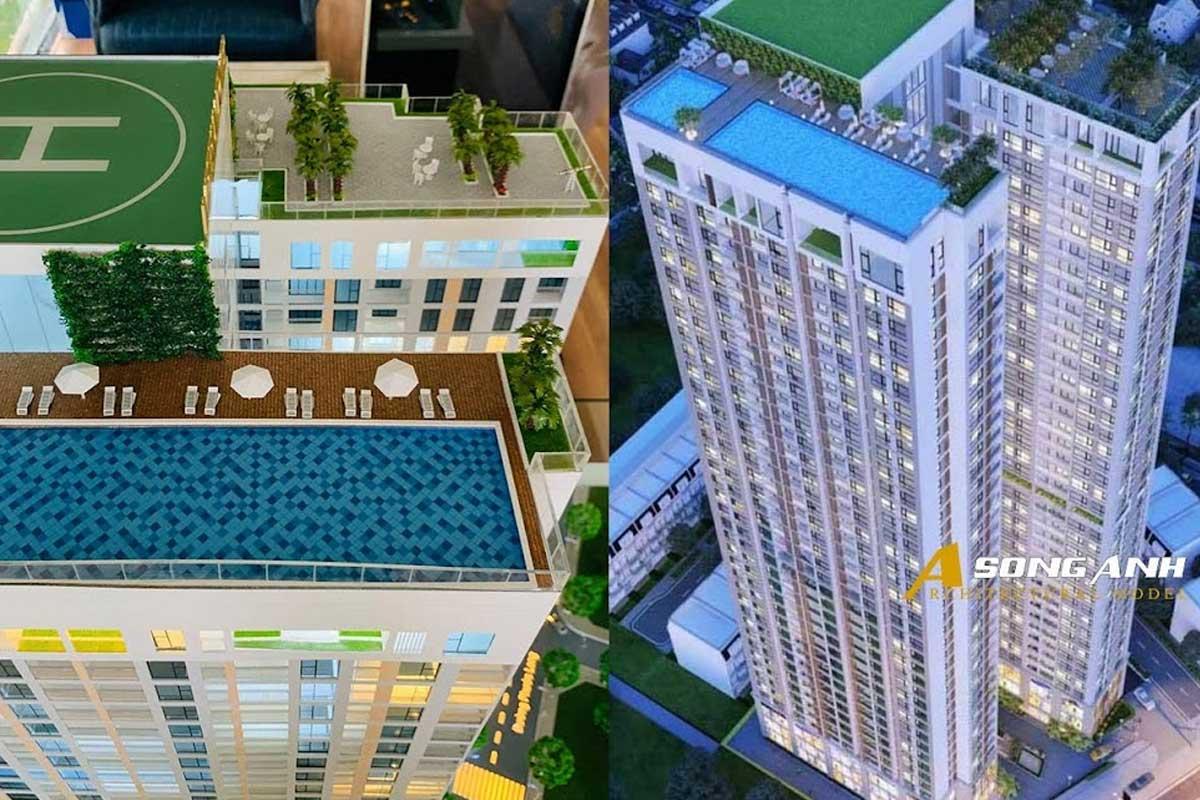 Mô hình cao tầng Imperium tại Nha Trang