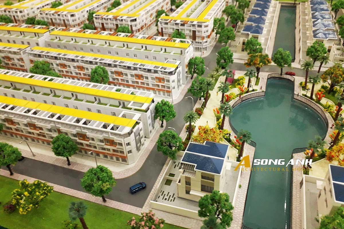 Mô hình quy hoạch Lago Centro - Long An