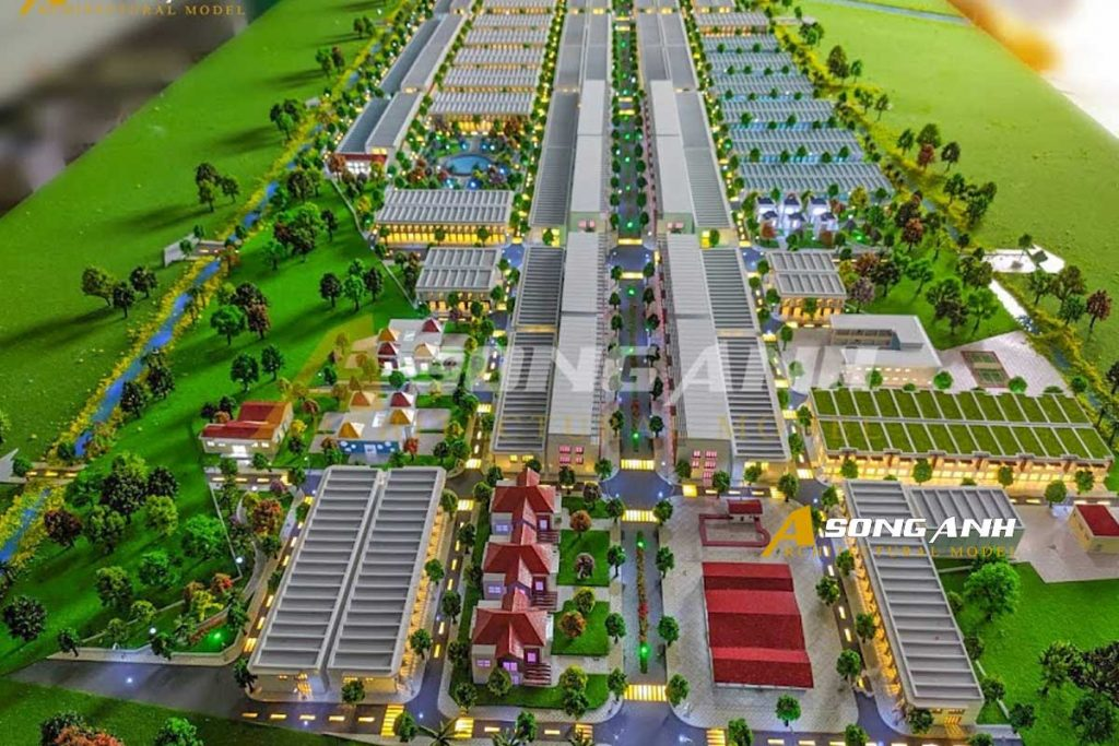 mô hình khu dân cư minh châu tại sóc trăng