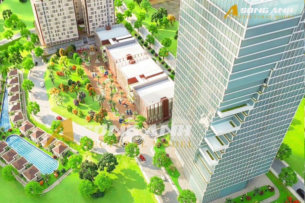 mô hình quy hoạch Kompong Dewa Resort - Sihanoukville