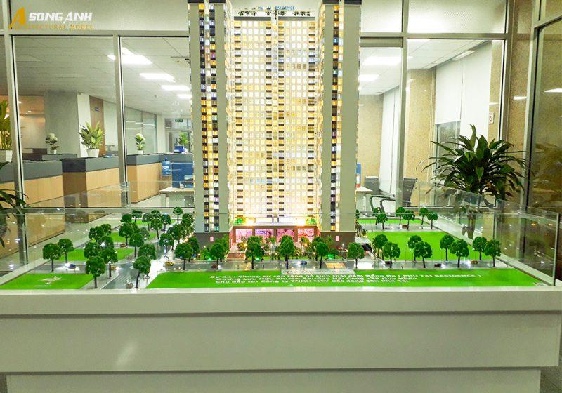 Nhận làm thi công sa bàn dự án tại Bình Định
