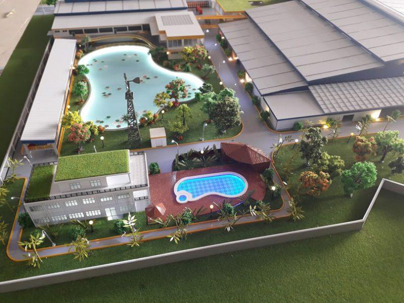 làm mô hình nhà máy cho các dự án bất động sản
