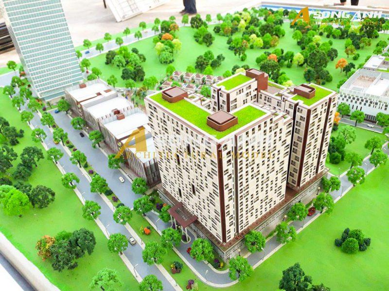 mô hình kiến trúc tại Campuchia