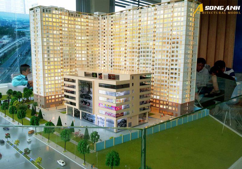 mô hình cao tầng
