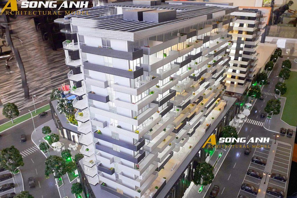 Mô hình cao tầng Sunshine Central tại úc