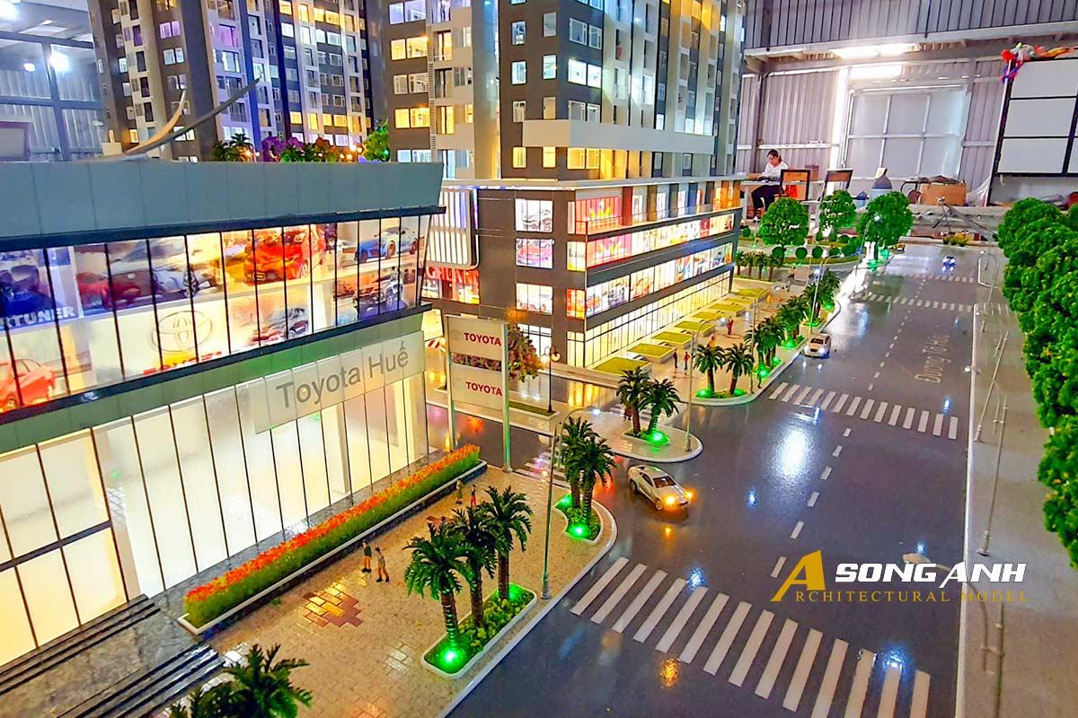 Mô hình chung cư Phú Mỹ An tại Huế