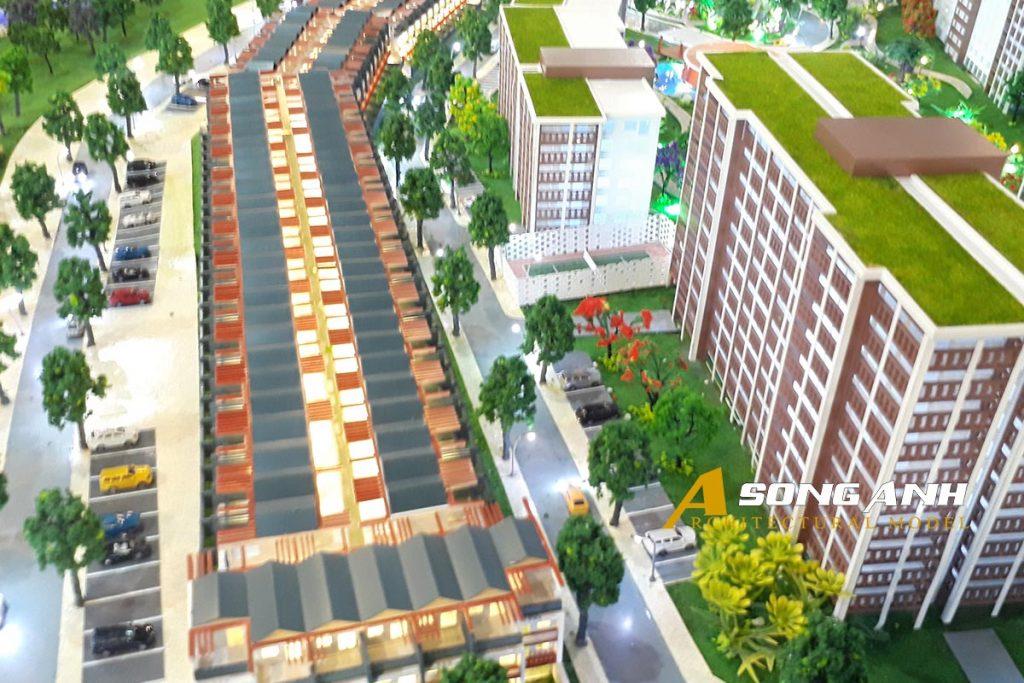 Mô hình dự án Aloha Beach Village