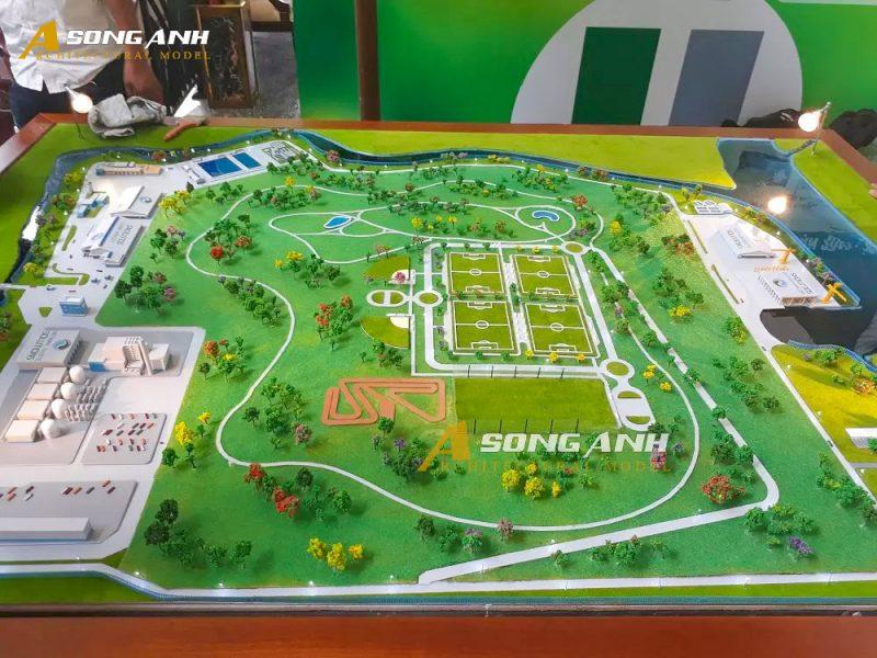 Mô hình nhà máy xử lý rác Vietnam Waste Solution - Đã Phước với nhiều mảng xanh