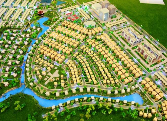 Mô hình dự án The Viva City - chủ đầu tư: Công ty địa ốc Long Điền và Tập Đoàn Đất Xanh