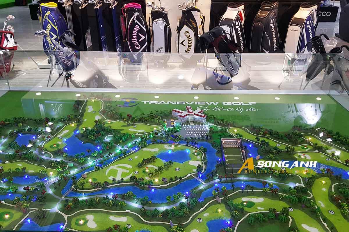 dự án sân golf transview golf