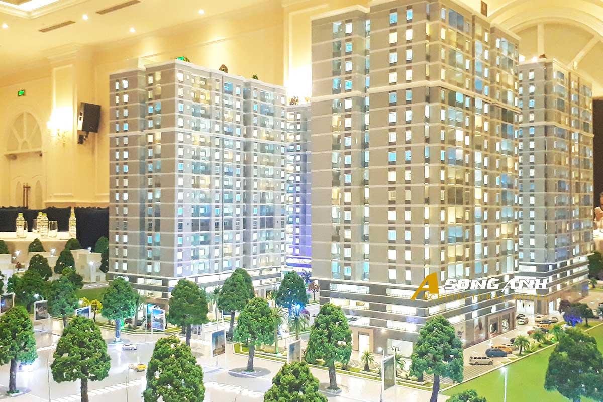 mô hình chung cư orchid park nhà bè