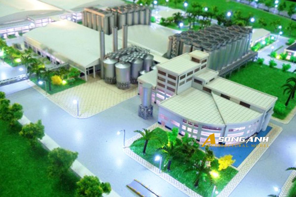 mô hình nhà máy bia sài gòn củ chi