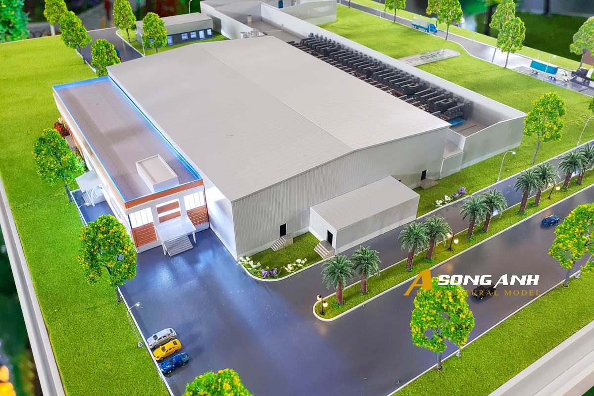 Mô hình nhà máy Nedspice Hà Lan